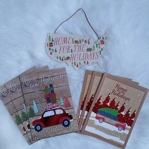 Home For The Holidays Christmas Map Decor (13 pc)